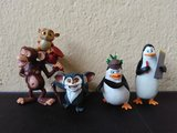 Lote personajes pingüinos de Madagascar - foto