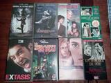 Lote 8 Peliculas Variadas Cajas VHS - foto