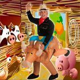 Disfraz hinchable Toro carnaval - foto
