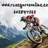 Asegurar bicicleta - foto