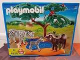 playmobil 4828 - búfalo con cebras - foto