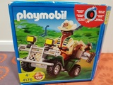 playmobil 4176 - explorador con quad - foto