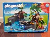 playmobil 4463 - piscina con caimán - foto