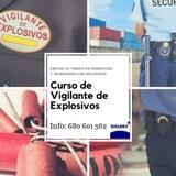 VIGILANTE DE EXPLOSIVOS - foto