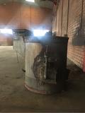 horno para fundir metales. - foto