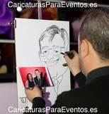 Caricaturistas en Valencia - foto