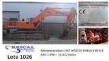 RETROEXCAVADORA FIAT HITACHI FH450.  3 BE - foto