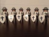 Playmobiles cruzados Playmobil medieval - foto