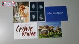 Lote de 5 postales publicitarias alemana - foto