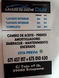 Lavadero de coches celes Estepona - foto