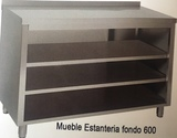 MUEBLES ESTANTERIAS TRASBARRA FONDO 35MM - foto