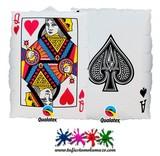 Globo de foil de carta de póquer 76cm - foto