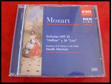 CD Mozart Sinfonias 35 y 36 - foto