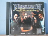Megadeth cd bootleg live in usa 1994 - foto
