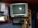 Televisión , DVD , TDT y brazo de colgar - foto