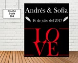 Diseño de boda LOVE - foto