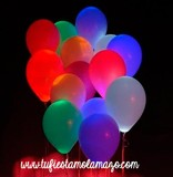 Globos luminosos LED Colores - foto