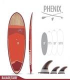 TABLA DE SUP PADDLE SURF REDWOODPADDLE - foto