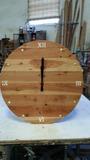 Reloj de pared redondo de 55cm de madera - foto