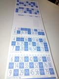 Cartones bingo - foto