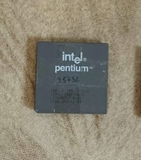 Cpus retro (intel pentium i + amd k6) - foto