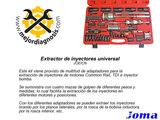 EXTRACTOR DE INYECTORES UNIVERSAL - foto