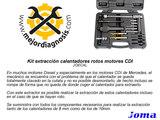 KIT EXTRACCIÓN CALENTADORES ROTOS CDI - foto