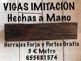 VIGAS FALSAS   IMITACIÓN - foto