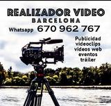 Operador de camara, videos, camarografo - foto