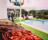 Fiestas de verano. Barbacoas - foto
