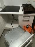 montaje vitroceramica horno termo - foto