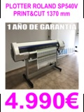 Plotter roland sp540v con garantia - foto