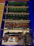 antiguo tren electrico escala 0 aleman - foto