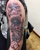 Tatuaje artístico mirad de precio - foto