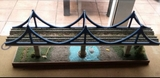 puente del ave maqueta de tren escala n - foto