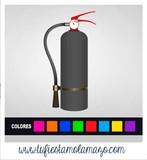 Extintor Polvos Holi - foto