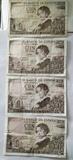 5 billetes de 100 pesetas. Año 1965 - foto