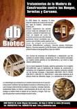 Tratamiento de madera carcoma y termitas - foto