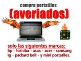 compro portátiles averiados! - foto