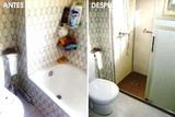 En elche  se cambió bañera por plato de - foto