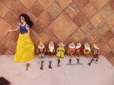 lote blancanieves y los 7 enanitos, falt - foto