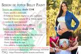 Fotografía de embarazo belly painting - foto