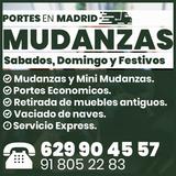 Portes economicos en Madrid Mejor Precio - foto