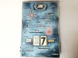 Calendario perpetuo naviera francesa - foto