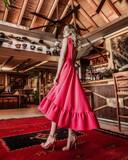Vestido fiesta y flamenca a medida - foto