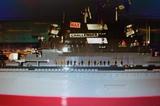 Micro marineros buques de guerra - foto
