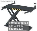 ELEVADOR DE TIJERA DE UNA PLATAFORMA DE - foto