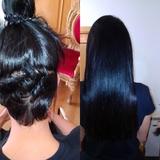 Extensiones para cabello corto - foto