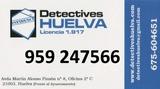 Investigación Privada. Huelva. - foto