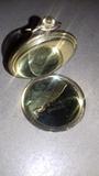 Reloj bolsillo chapado en oro marca taf - foto